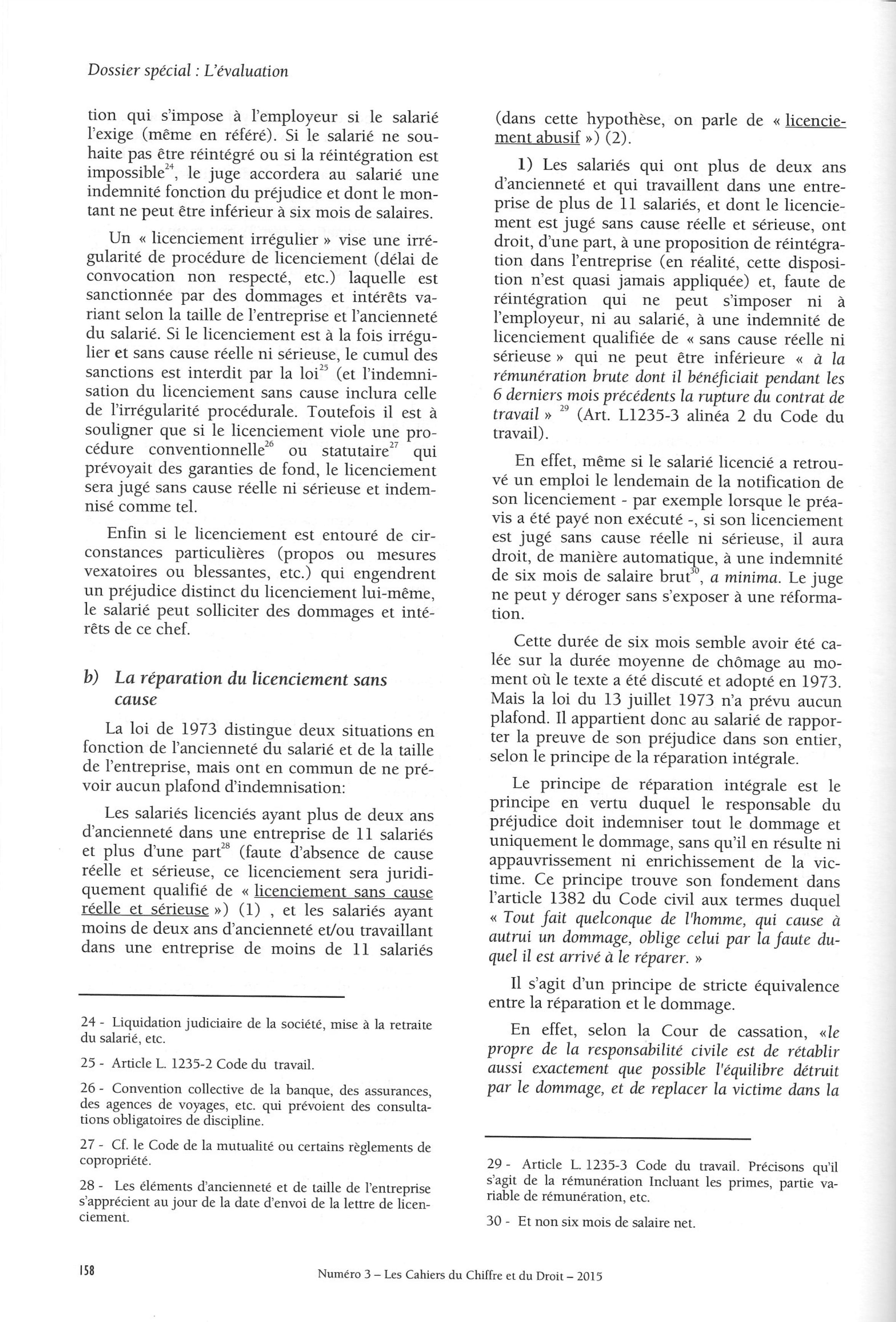 code du travail 1235-3
