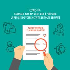 covid-19 caravage avocats vous aide à préparer la reprise de votre activité V2