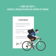 « Take Eat Easy » nouvelle requalification en contrat de travail