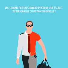Vol commis par un steward pendant une escale vie personnelle ou vie professionnelle-v2